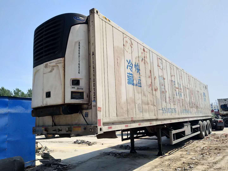 出售二手15米大凤凰凯丽冷藏车包提档过户