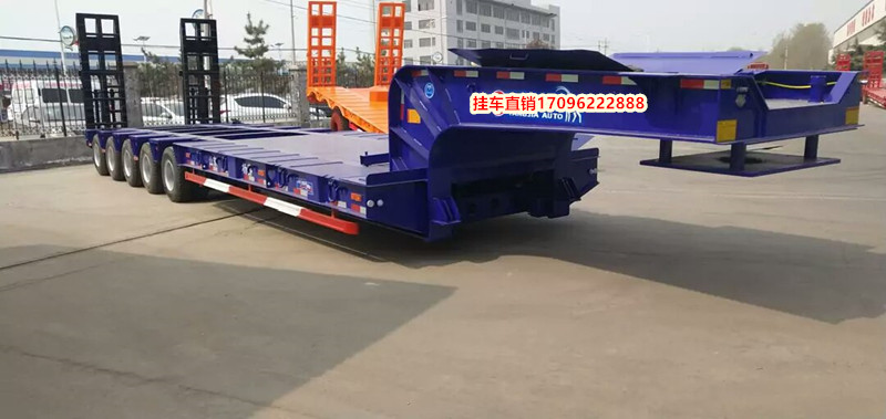 厂家订做13米挖掘机运输车 以旧换新新疆直销