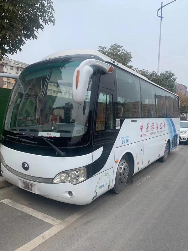 郑州郑州二手大巴 二手客车 宇通6858车型二手车