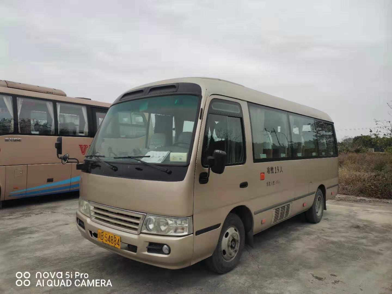 江铃考斯特中型旅游车19座二手车