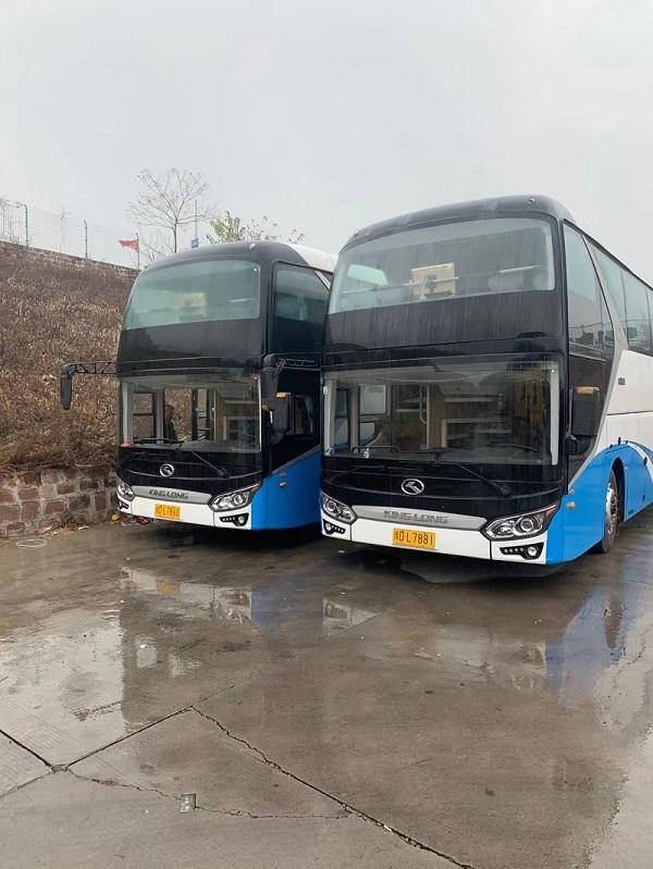 金龙6125两辆【全国收售大巴车】【车辆出口】二手车