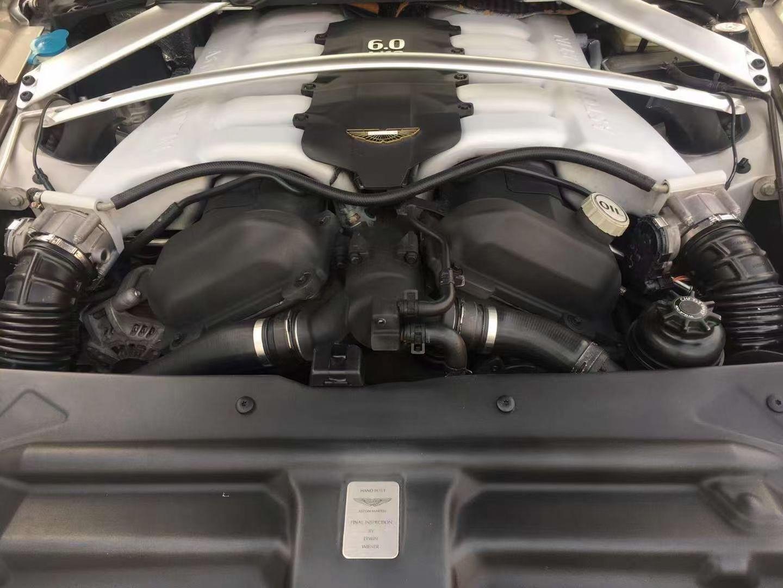 2016年阿斯頓馬?四丁?門轎跑Rapide S6.0 V12二手車