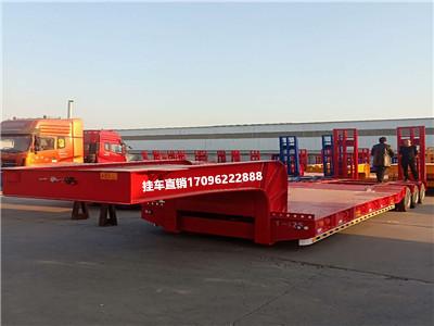订做精品挂车 13米挖掘机板拖车 全国发货二手车