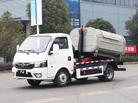 比亚迪纯电动2.5方车厢可卸式垃圾车
