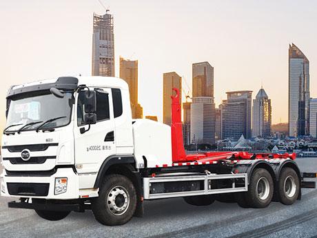 比亚迪纯电动16-18m3 车厢可卸式垃圾车