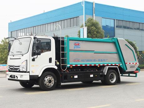 比亚迪纯电动新能源8方压缩式垃圾车