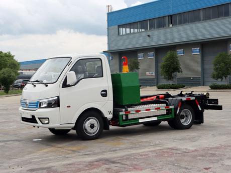 东风华神纯电动车厢可卸式垃圾车