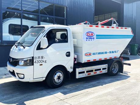 比亚迪纯电动3.5方自装卸垃圾车