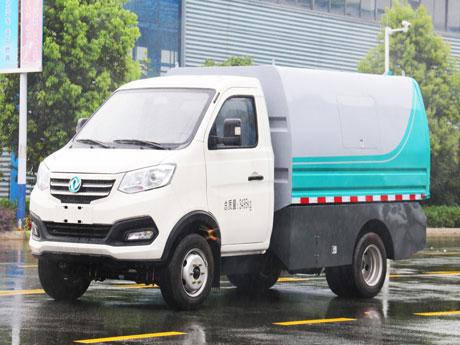 东风纯电动厢式4.6方垃圾车