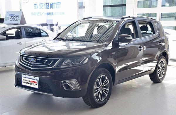 吉利远景SUV 2016款 1.3T CVT 旗舰型