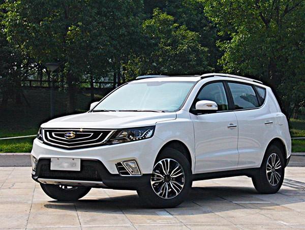 吉利远景SUV 2016款 1.8L 手动 舒适型