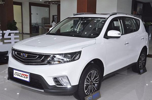 吉利远景SUV 2016款 1.8L 手动 豪华型