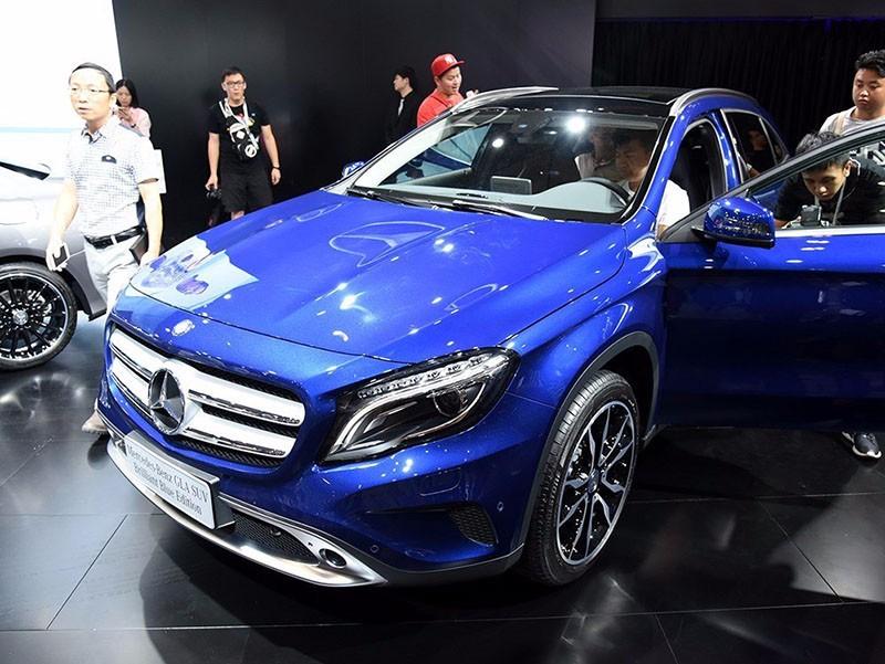 奔驰GLA 2016款 GLA 200 蓝调版