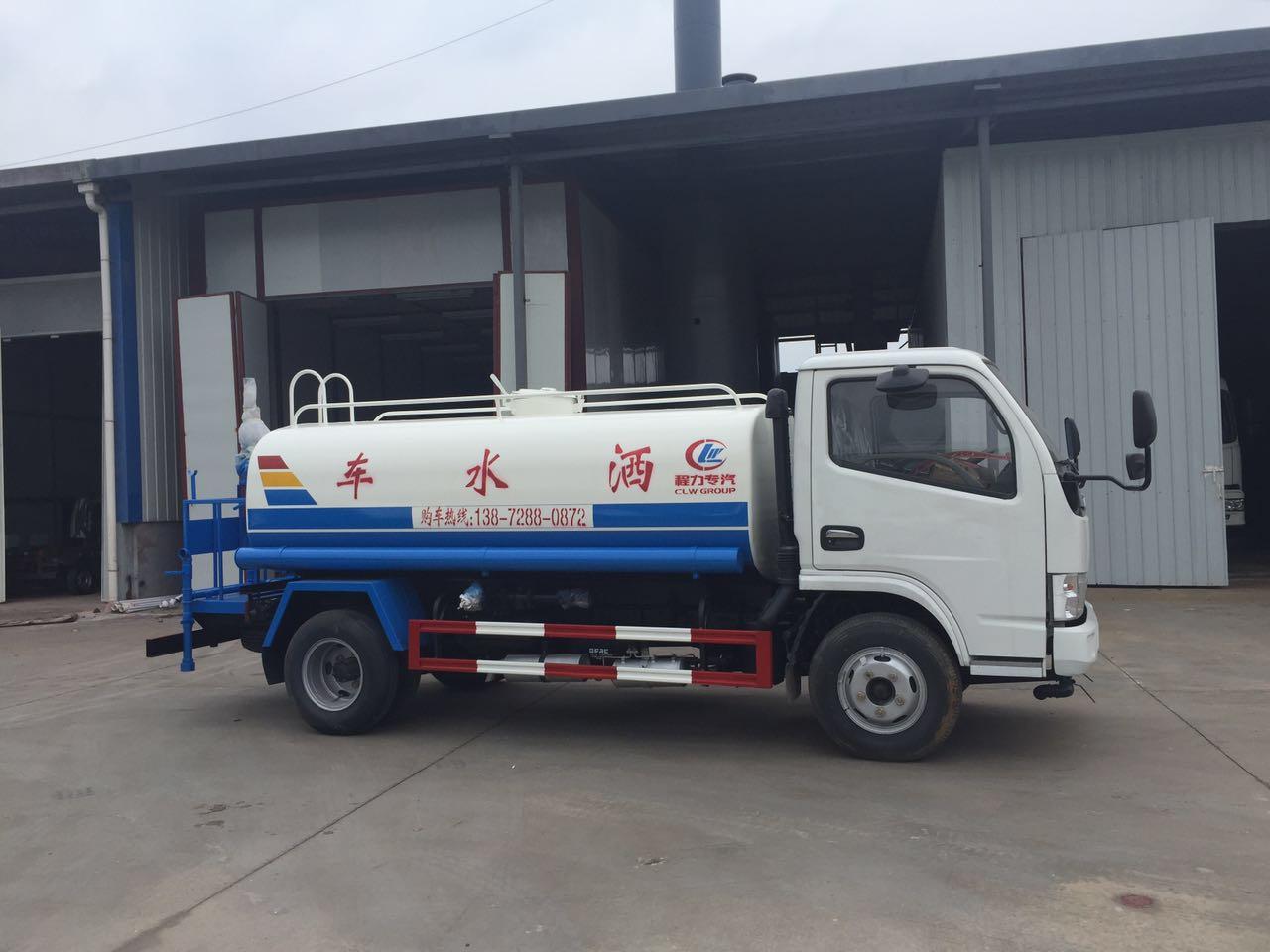 5吨小多利卡洒水车(国五)