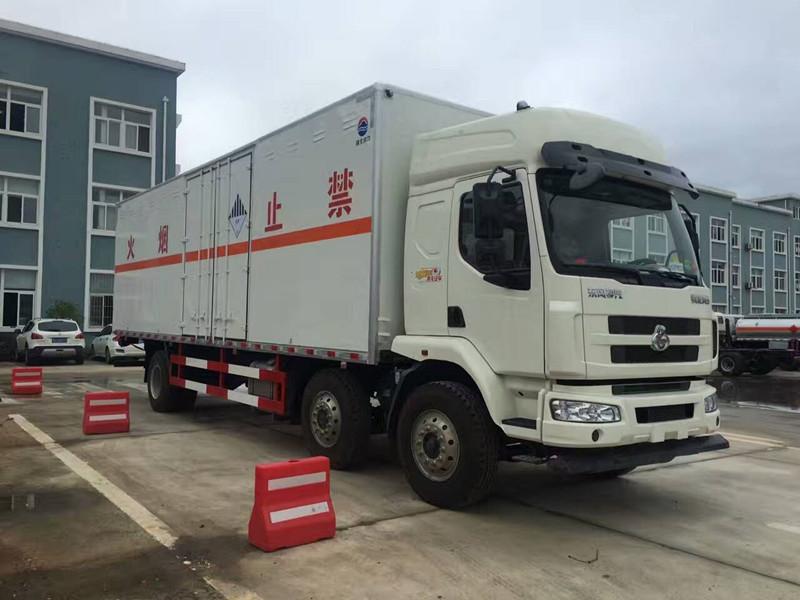 柳汽9米6杂项危险物品厢式运输车-杂项危险物品厢式运输车价格