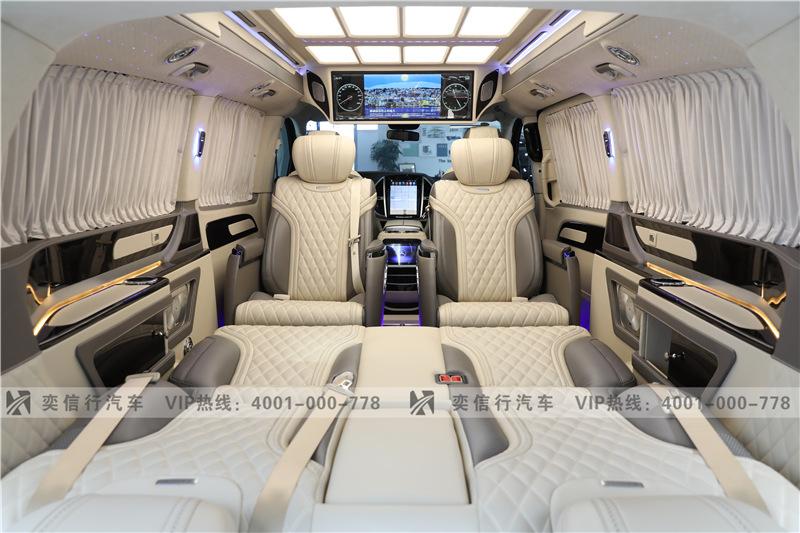 奔馳威霆改裝房車 杭州優惠報價多少錢 價格直降5-15萬 45萬起