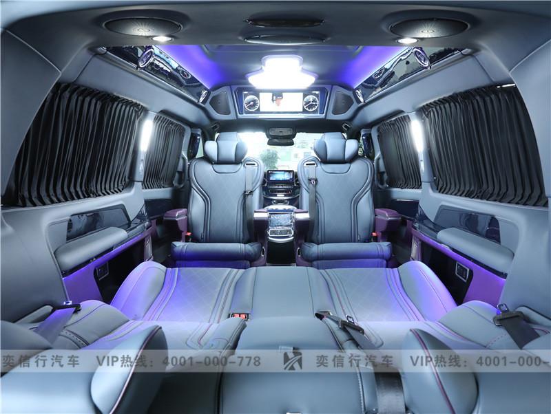 金華 2020款奔馳商務車4S店優惠報價 奔馳V260改裝房車 80萬起售