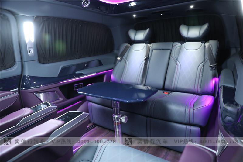 杭州 奔馳V級房車多少錢?維努斯黑金版 V級改裝定制報價 工廠直銷