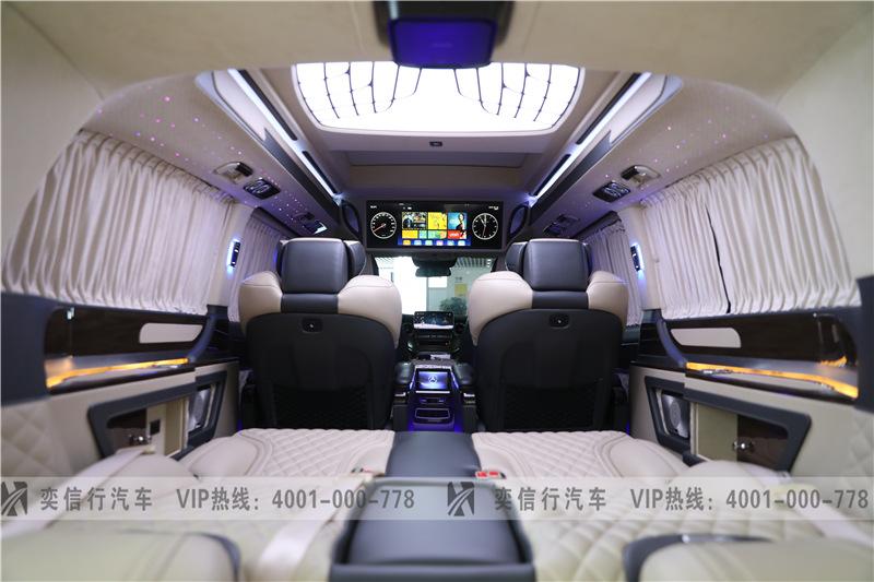 杭州 奔馳V260房車工廠直營報價 成功老板的選擇 接待客人更體面