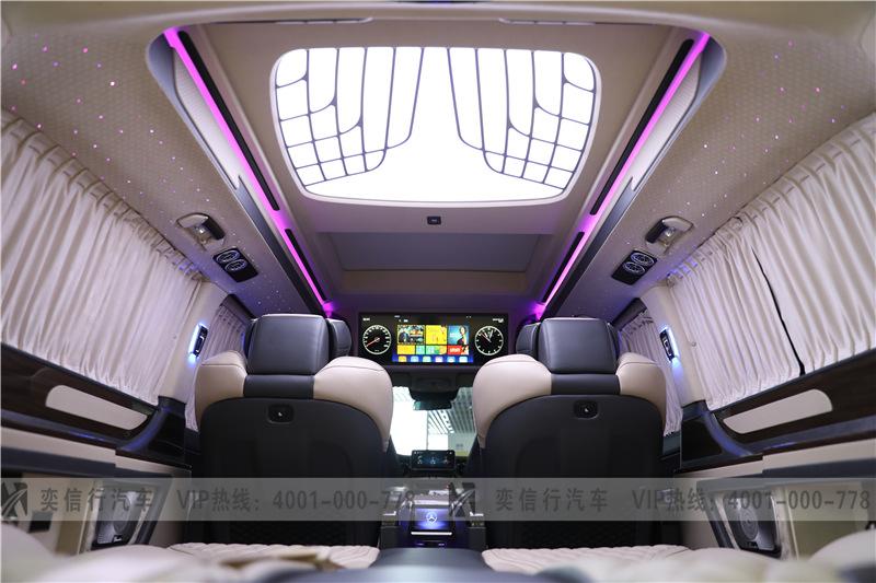 奔馳房車V260定制版報價 維努斯黑金版 工廠直銷優惠 PK埃爾法