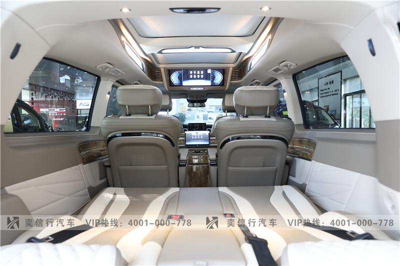 臺州2020款奔馳商務車4S店優惠報價 奔馳V260房車工廠店 80萬起售