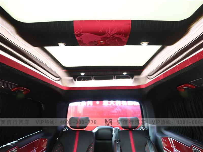 衢州 7座高級商務車奔馳V級定制 V260房車 優惠報價直降5-20萬