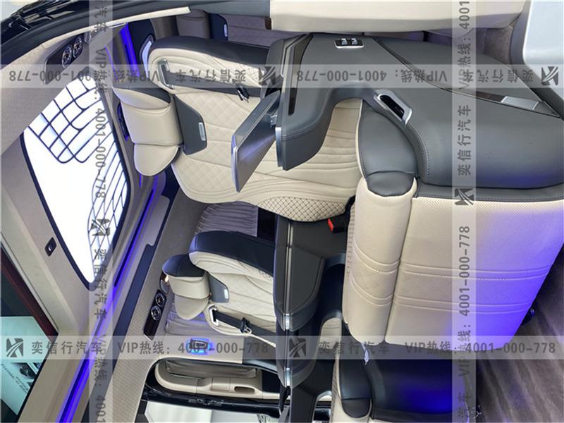 江西 上饒 2020款奔馳V260商務車威享版 7座高頂V級房車 工廠底價優惠