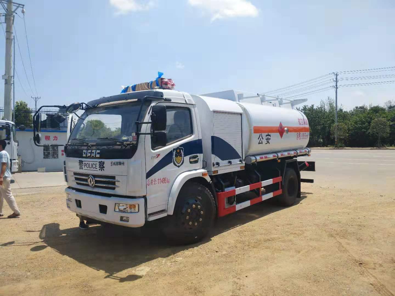 国六气瓶运输车结构