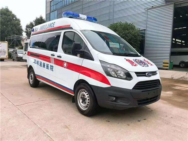长轴高顶负压救护车国内热销品牌 福特V362新全顺救护车厂家报价一览表