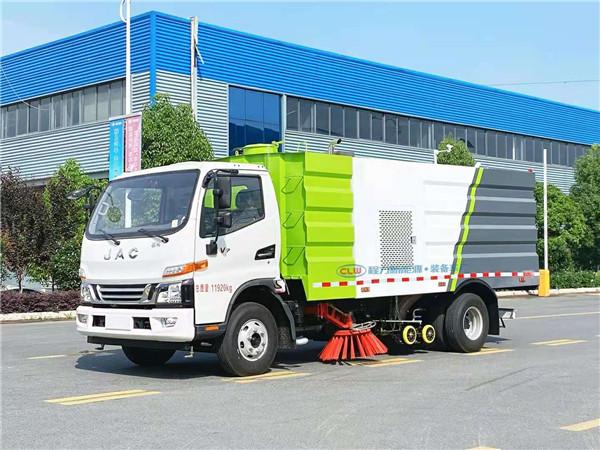 国六大型东风15吨洗扫车 道路清洗清扫一体车厂家购车直降2万