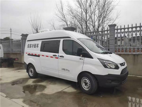 單排疫苗運輸車_國六疫苗冷鏈車用途