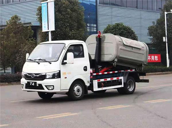 【比亚迪】纯电动比亚迪T4勾臂式垃圾车