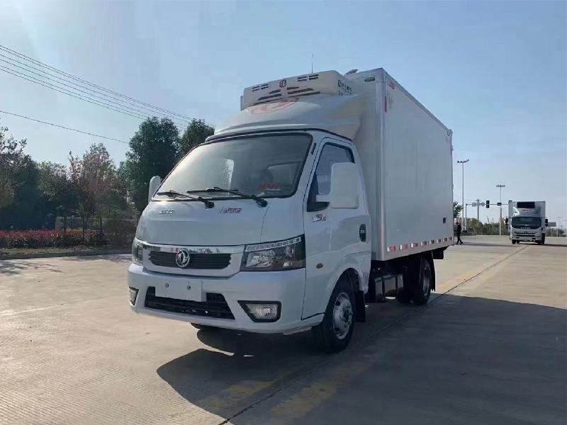 东风途逸3米5冷藏车价格_东风途逸国六3.5米冷藏车厂家报价