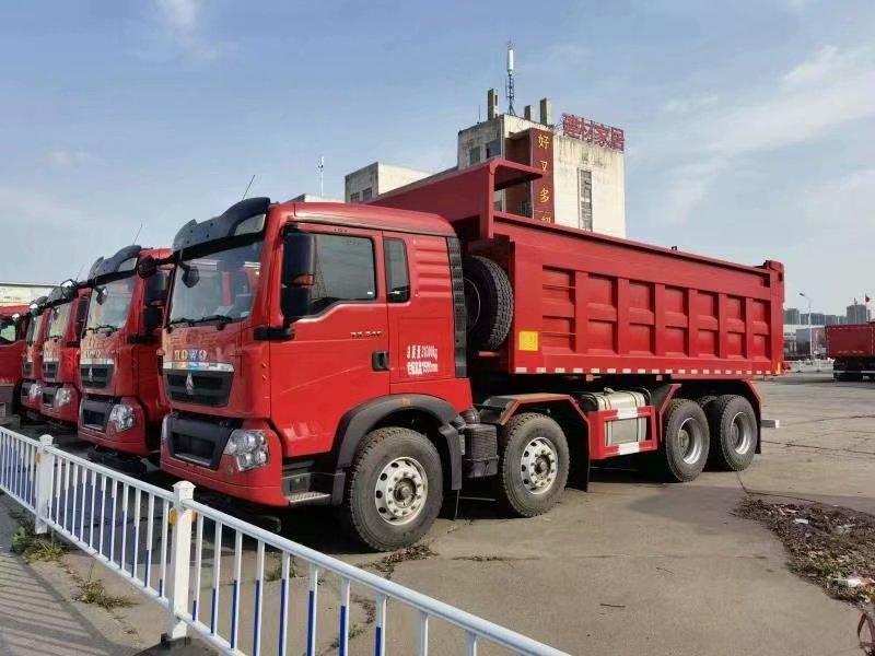 豪沃 TX5自卸车潍柴430马力6米