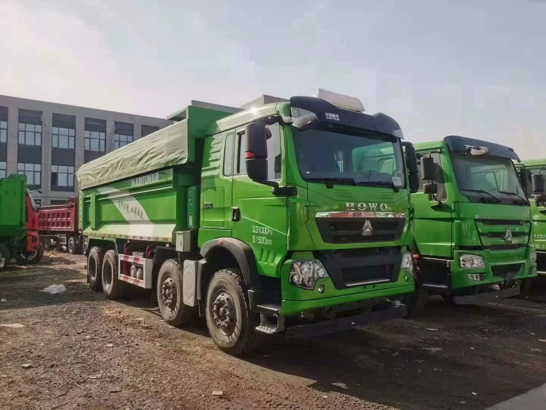 豪沃 TX7自卸车潍柴400马力7.6米