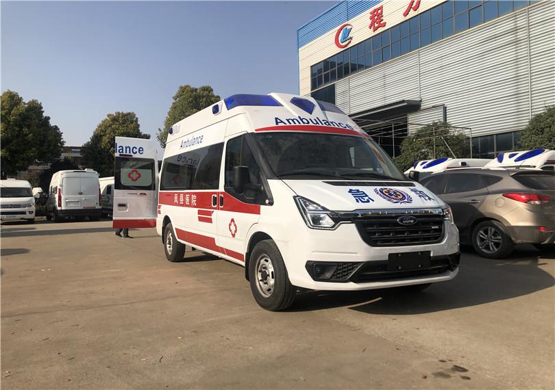 救护车厂家直销——小型救护车现车——福特新世代V348Pro自动档救护车正式上市