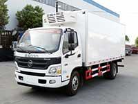 福田欧马可5.1米冷藏车厂家推荐车型报价