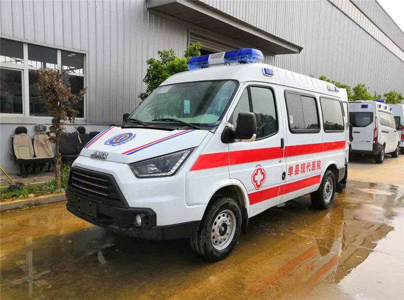 【负压救护车】国六江铃特顺长轴负压救护车厂家现车促销