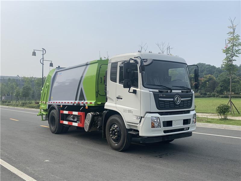 国六东风天锦14方压缩垃圾车厂家价格