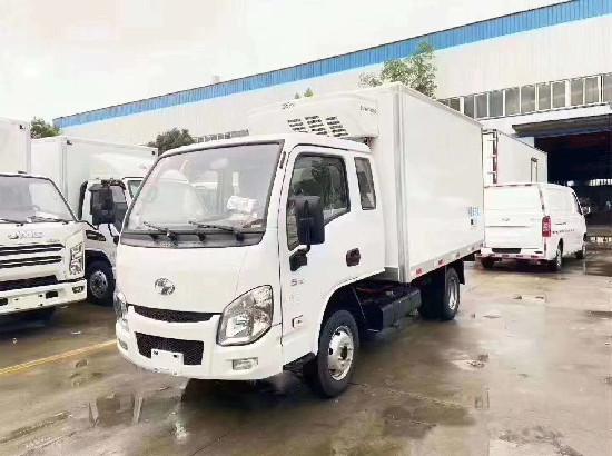 3米2国六跃进小福星S70排半冷藏车价格_跃进冷藏车厂家报价