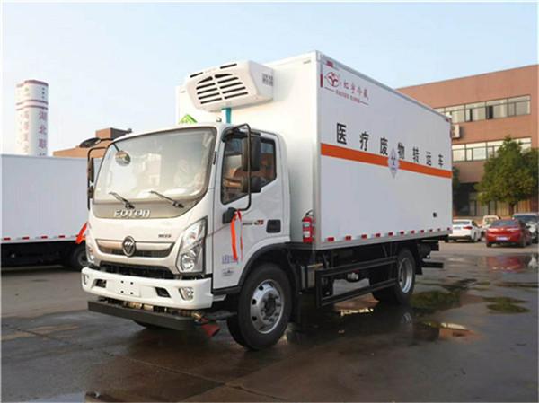 国六新型冷藏车热销中-福田6米8冷藏车厂家报价多少钱