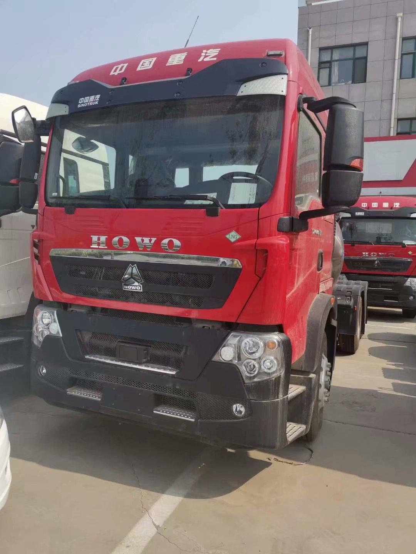 豪沃TX440马力LNG国六牵引车