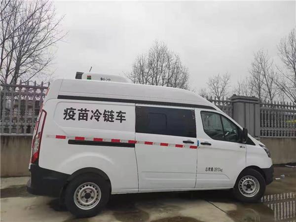 云南文山医疗疫苗冷链车图片
