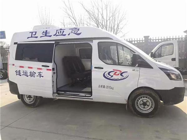 四川成都医疗疫苗冷链车冷藏机组