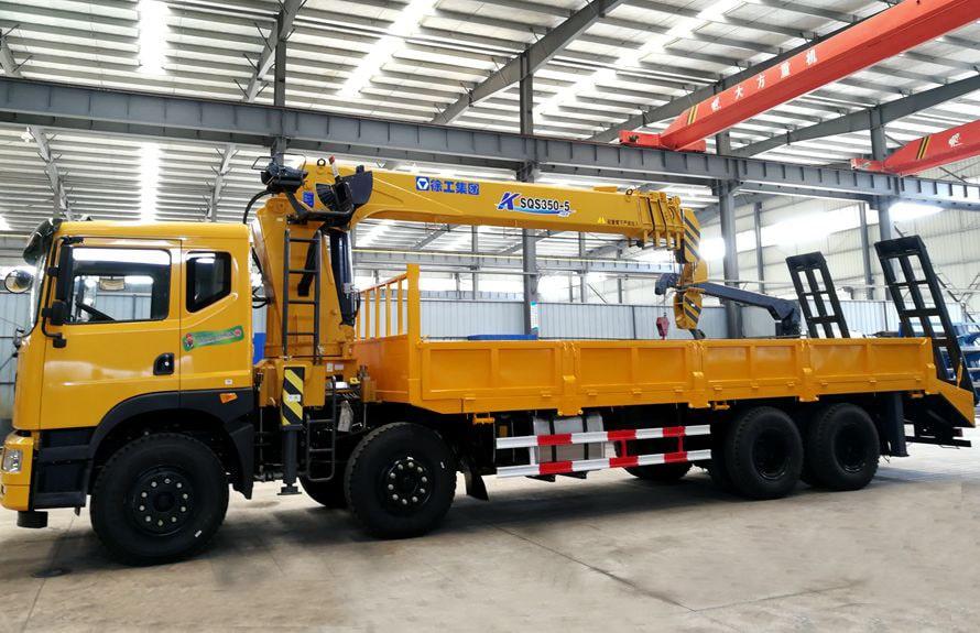 随车吊平板运输车,聚集多种车型功能