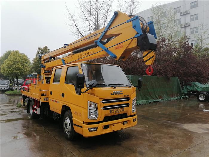 直臂高空作业车_江铃17.5米直臂高空作业车_生产厂家在哪里_安监控高空作业车
