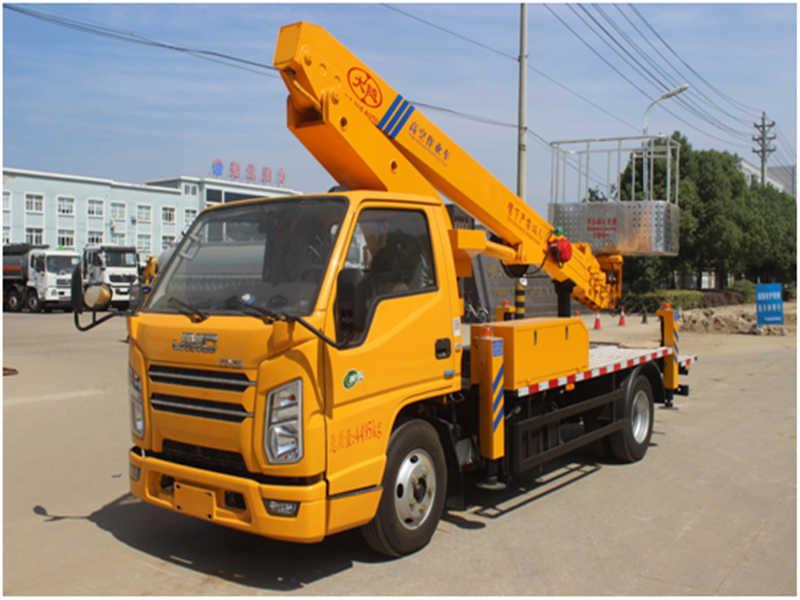 蓝牌21米直臂伸缩式高空作业车
