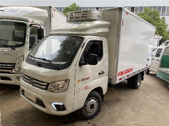 国六福田祥菱M2小型冷藏车报价_福田祥菱3.7米冷藏车价格多少钱
