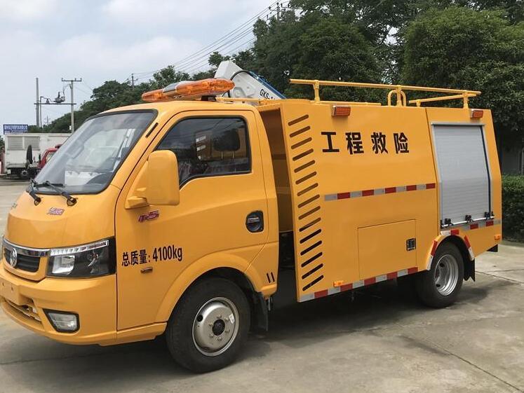 國六東風途逸小型電力工程救險車廠家_圖片_價格