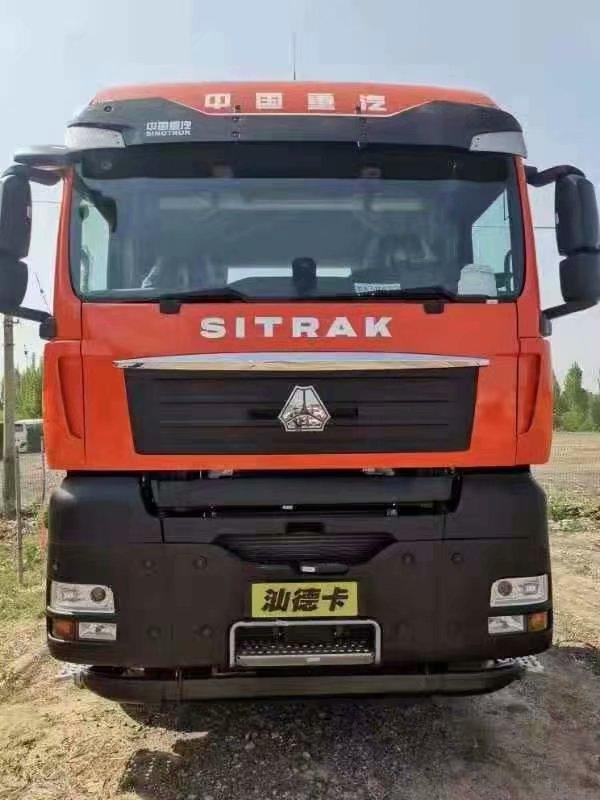 汕德卡480马力带液缓牵引车法规版